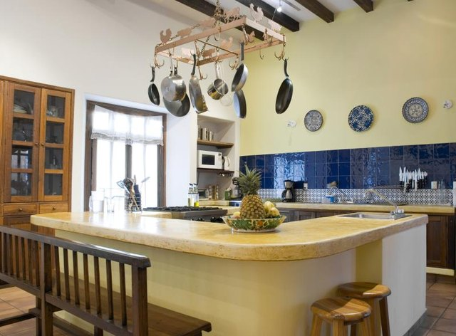 Spacious country-styled kitchen