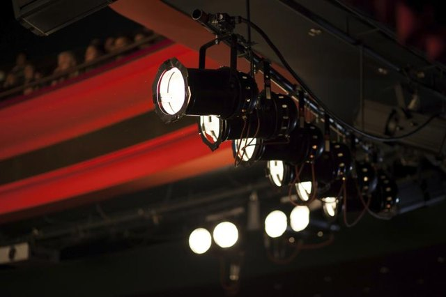 Theatre lighting.