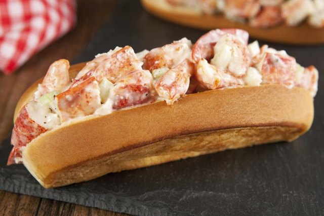 A lobster roll.