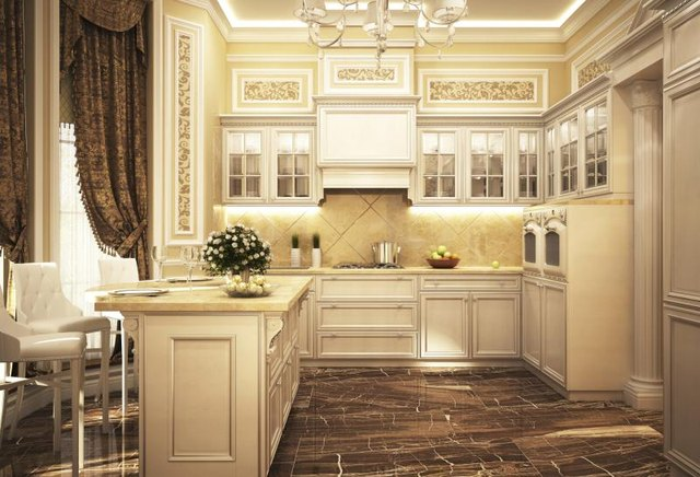 How To Decorate A Kitchen With White Appliances Ehow
