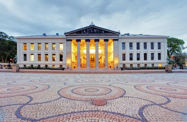 University of Oslo in Norway.