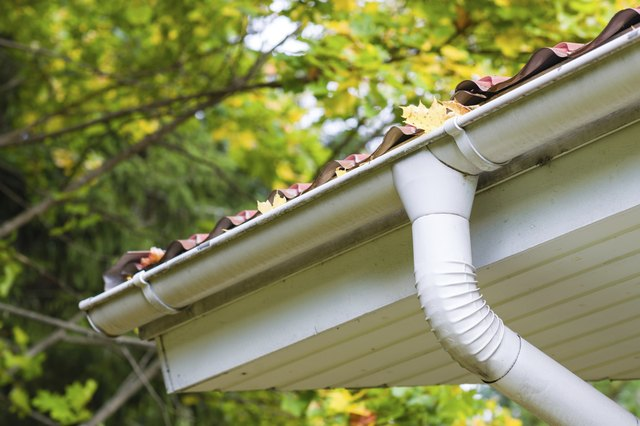 Clean your gutters in late autumn to prevent icicles and ice dams.