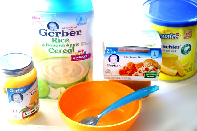 When to Start Feeding Baby Stage 3 Gerber Foods