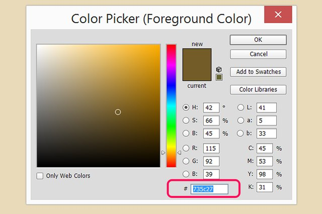 how to change the color of a picture in photoshop