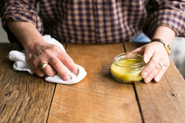 Diy Beeswax Wood Treatment Recipe 3 Ingredients Only Ehow