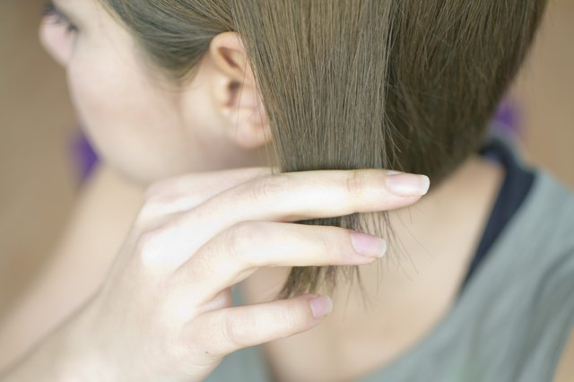 How to Fix Hair That Turned Green When Dyed Brown