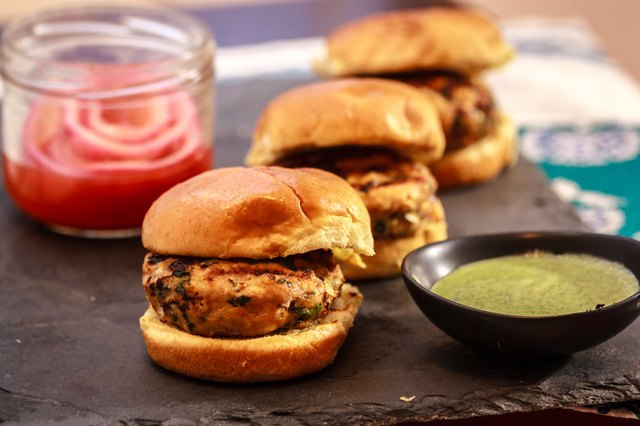 Minty Chicken Sliders