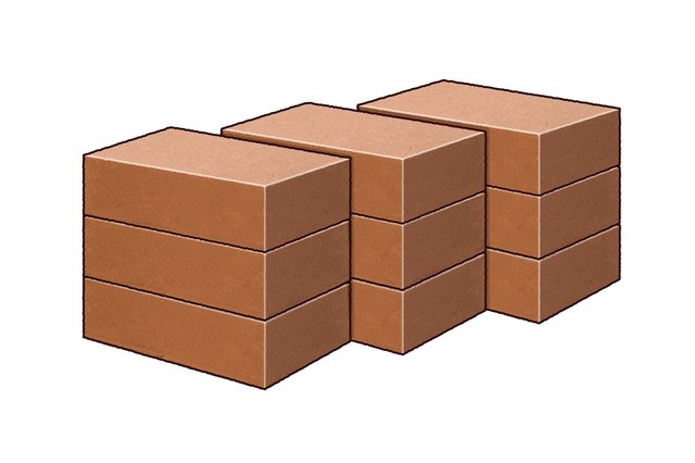 how to calculate number of bricks per square foot ehow