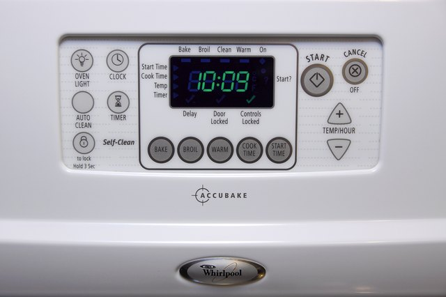 How to Unlock a Whirlpool Accubake?