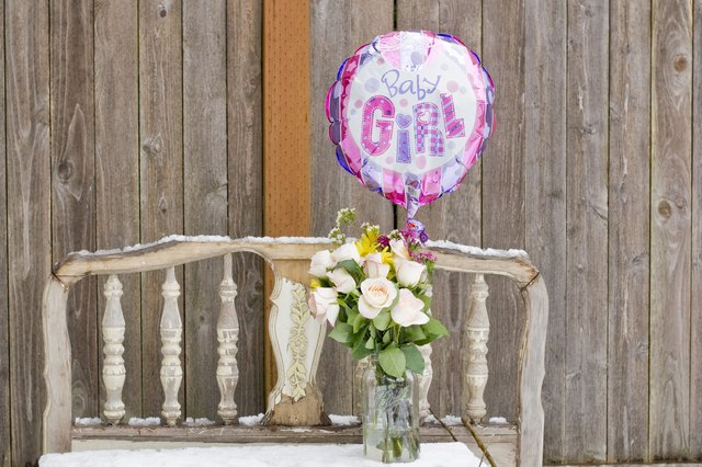homemade baby shower decorations with pictures ehow
