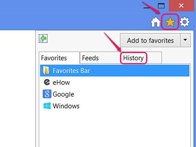 how to delete history internet explorer shortcut