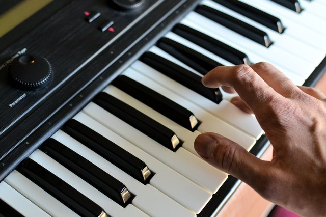 how to teach yourself to play keyboard