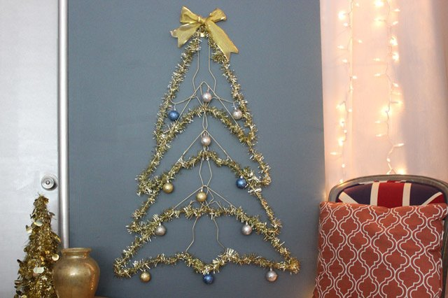 How To Make A Wire Christmas Tree