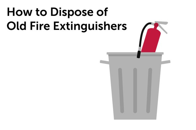 Fire extinguishers should be replaced after use or when they lose pressure.
