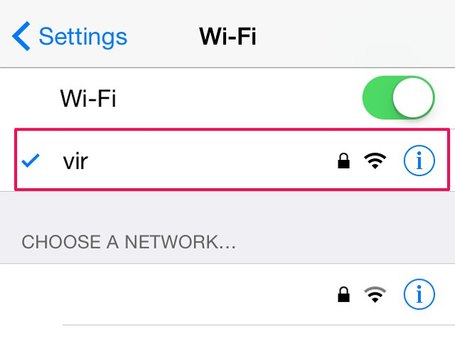 how to connect my computer wifi to iphone