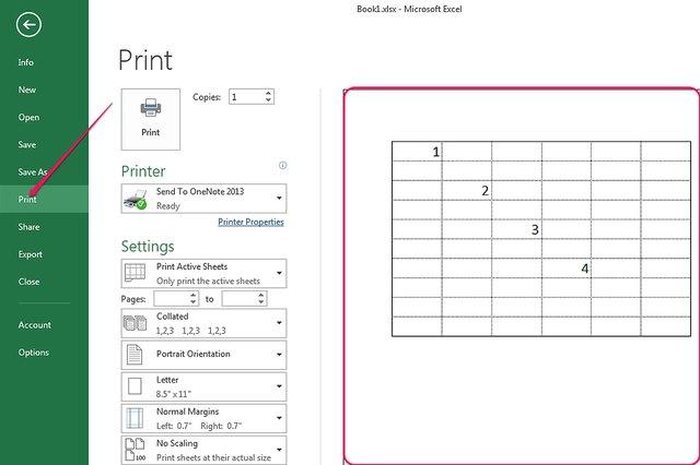 Print Gridlines In Excel 2013