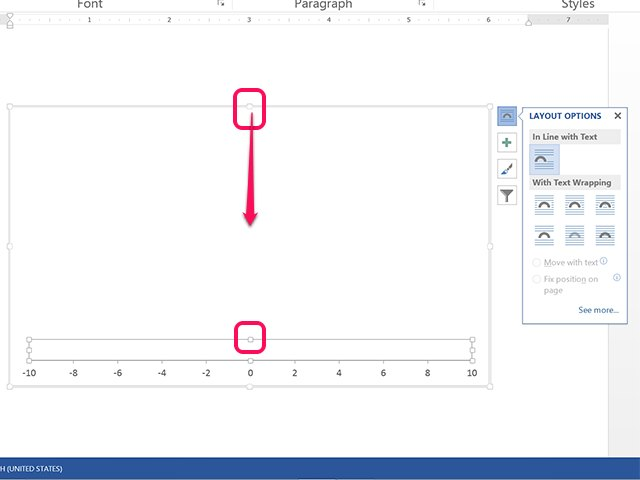 how to reduce line break size in word
