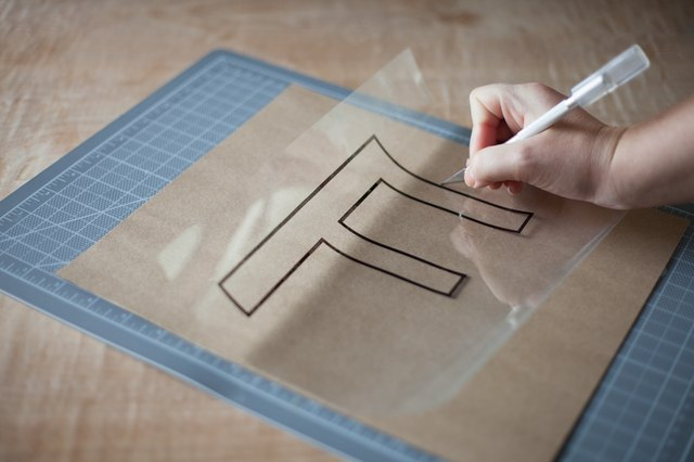 How to Make Large Alphabet Stencils (with Pictures) | eHow