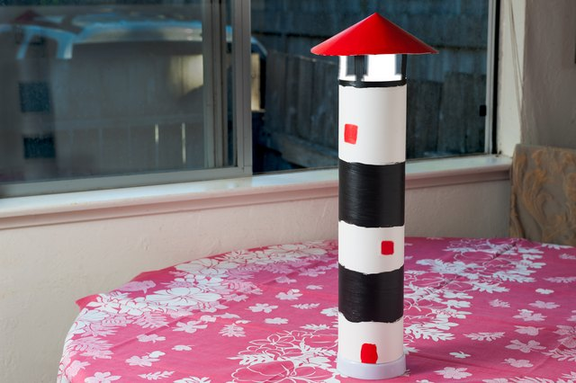 How to Build a Lighthouse Out of Cardboard