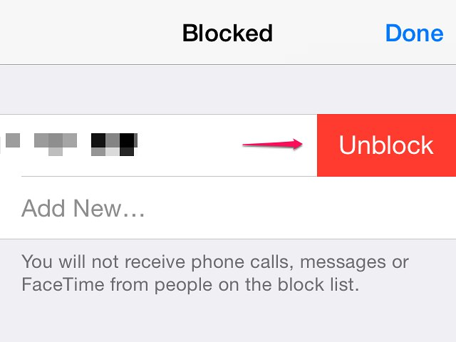 how to see blocked numbers on my iphone