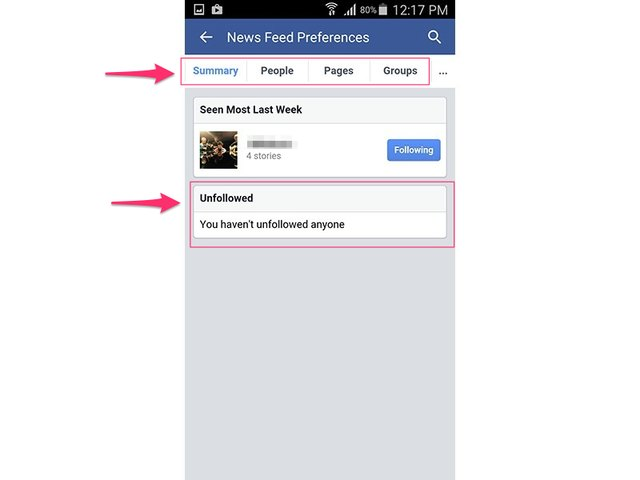 how to turn facebook news feed off