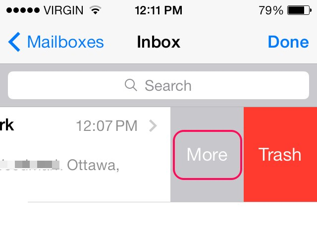 how to stop junk email on iphone