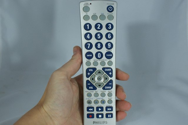 How to Set a Phillips Universal Remote