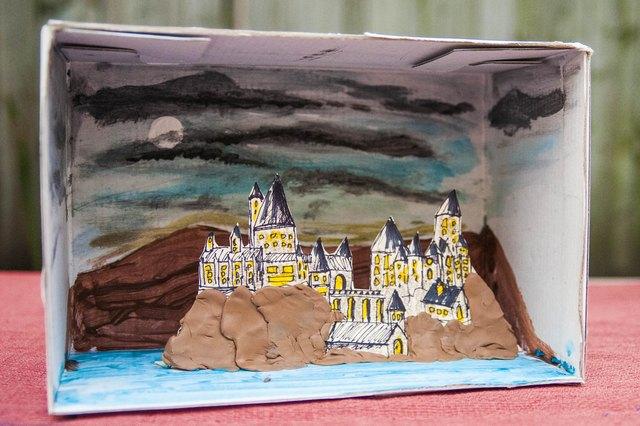 shoebox diorama book report