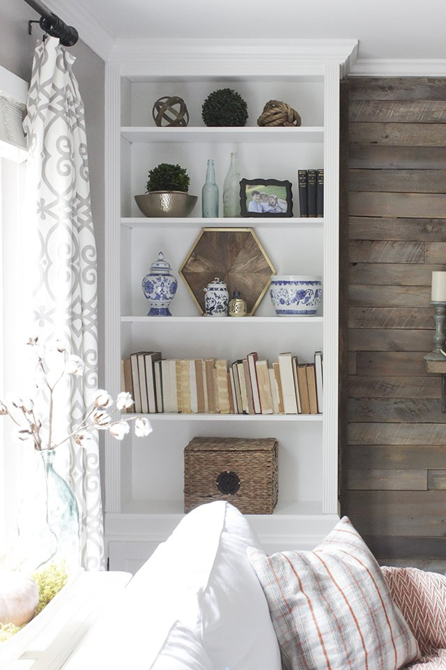 How To Make Prefab Bookcases Look Like Built Ins Ehow