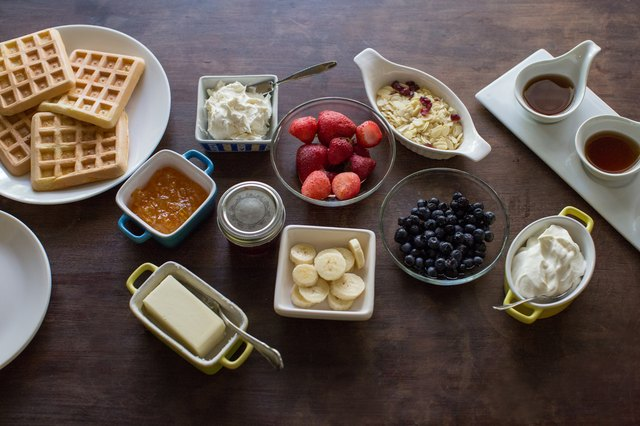 How to Make a Waffle Bar for Breakfast