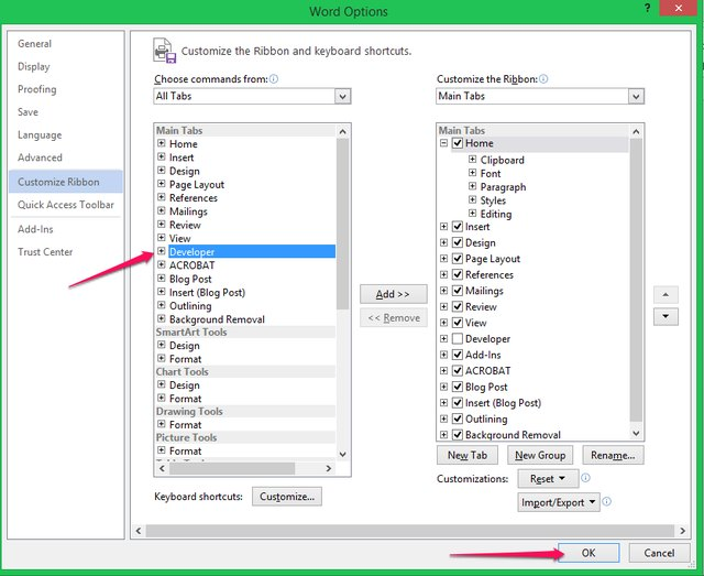 how to change the date of a microsoft word document