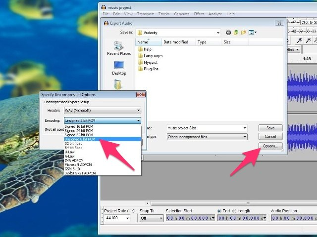 how to fix muffled sound in audacity