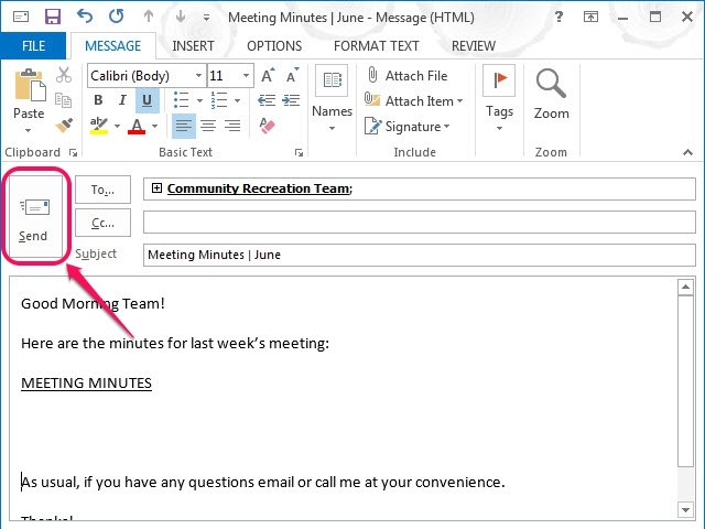 How to create a template in microsoft outlook ehow for Outlook 2007 template shortcut