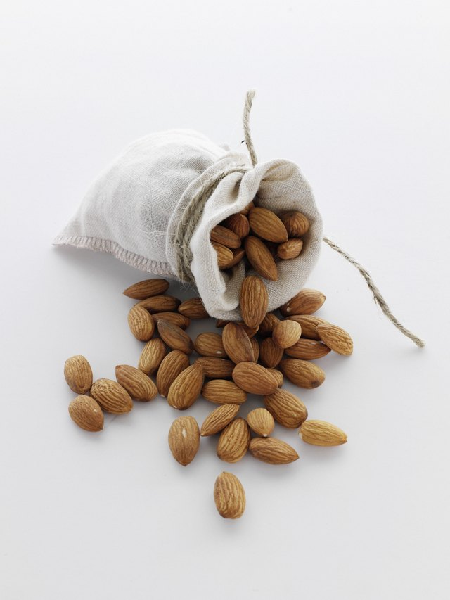Almonds help nourish the healthy microbes in your gut.