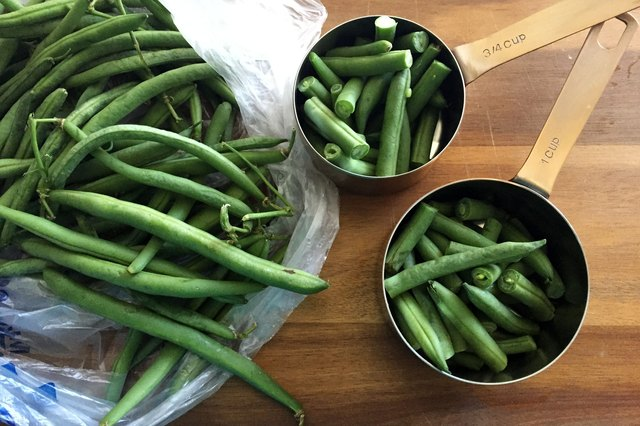 How to Calculate How Many Cups in One Pound of Green Beans