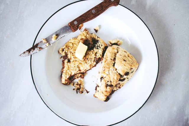 For extra delicious scones, serve them warm with a pat of butter.
