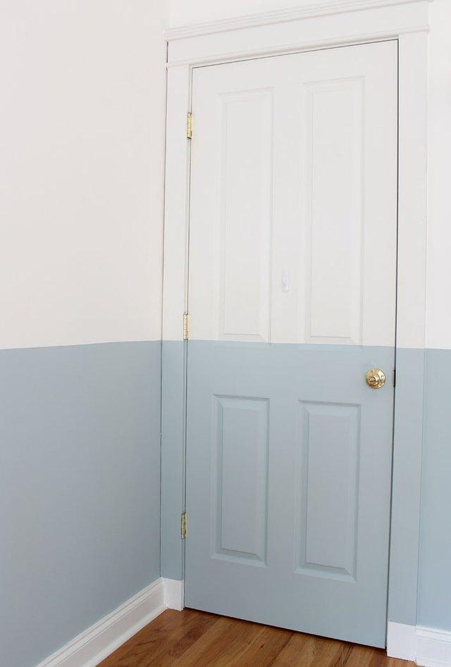 the best way to paint interior doors ehow