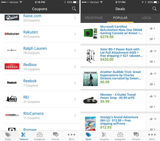 Slickdeals uses crowdsourcing to find and share deals.