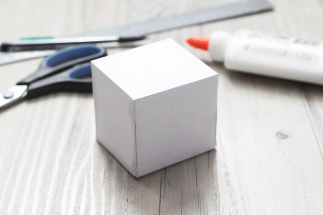How to make 3d shapes out of paper with pictures ehow for How do you make stuff out of paper