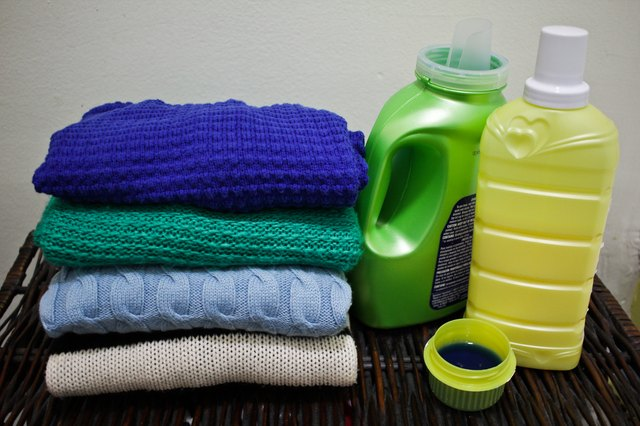How to Get Fabric Softener Stains Out of Clothing