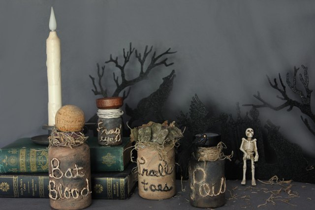 Display your new potion jars.