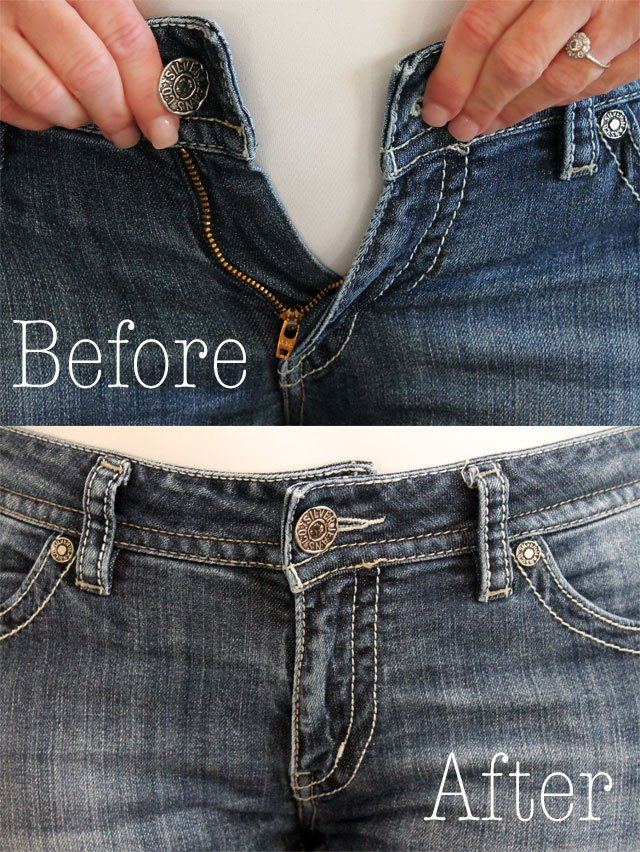 How To Make The Waist Bigger On Jeans Ehow