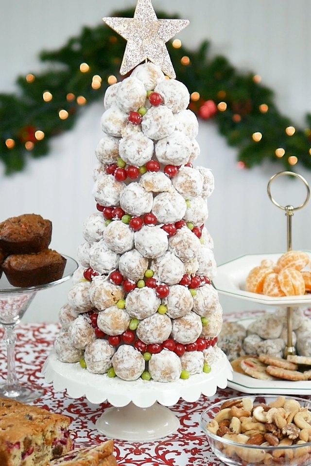 Donut Hole Christmas Tree Ehow