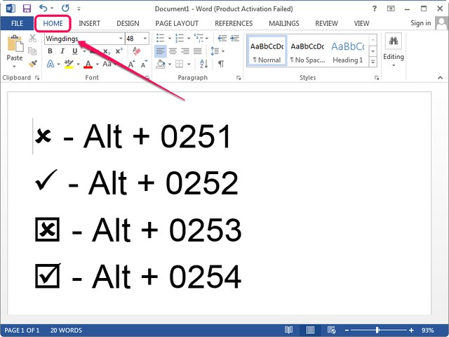 how to create keyboard shortcuts to insert phrases in word