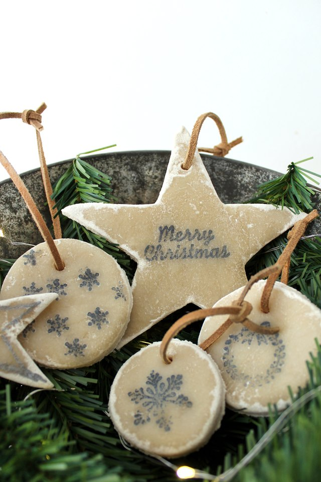 Decorate Your Christmas Tree With No-Bake Salt Dough ...
