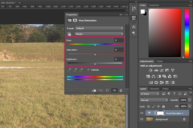 how to turn layer photoshop
