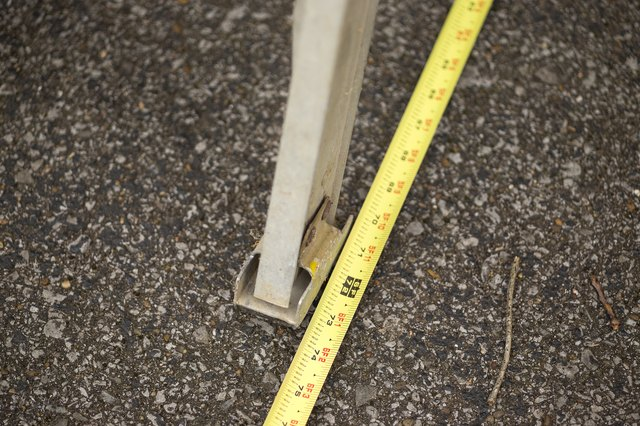 How To Determine Ladder Length Needed With Pictures Ehow