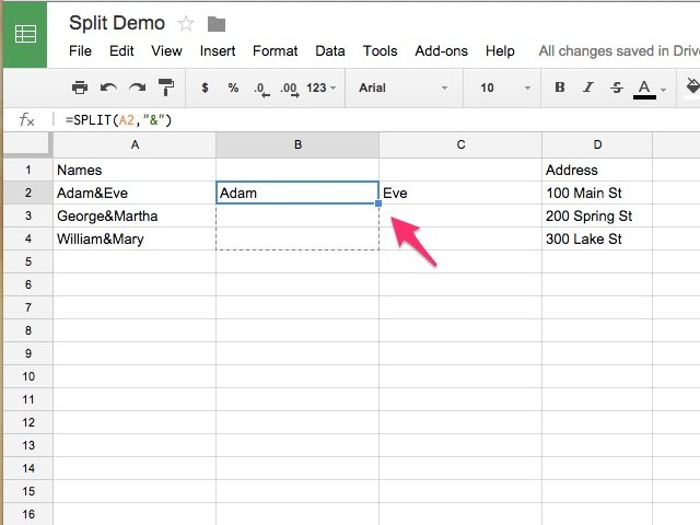 how to add colunms in google docs