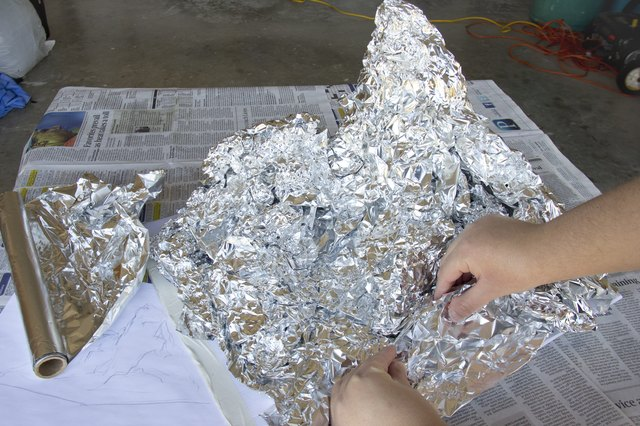 How to make a mountain out of paper mache with pictures for How to build a house in a mountain