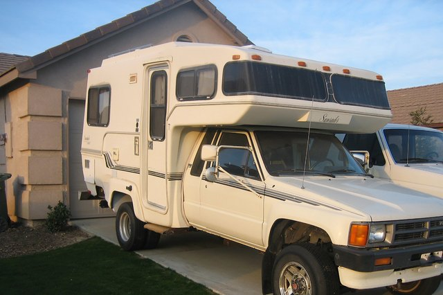 Types Of Toyota Motorhomes With Pictures Ehow